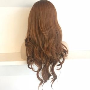 """Her Wig Closet Accessories - 30"""" Side Part Dirty Blonde Wavy Wig 
